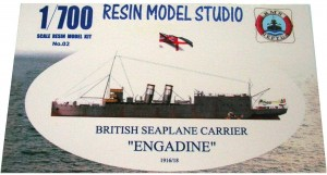 "[No02]  British Seaplane Carrier ""ENGANDINE""1916/18"