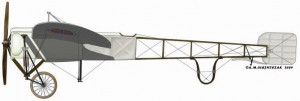 [A197] Bleriot XI-2 Norwegian Airplane