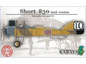 Short 830 land version