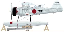 [B4802] Ki-4 two floats version
