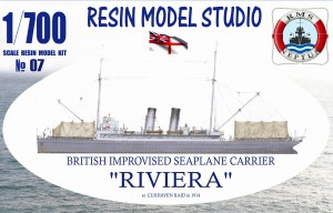 [No07] RIVIERA British Improvised Seaplane Carrier 1914