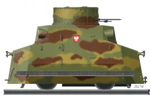 [V19]  Polish Armoured Draisine TATRA T18 (September 1939)