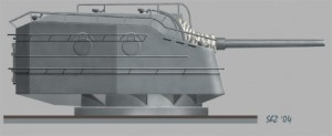 [S01] Gun Turret 2x127mm (Japan Destroyer)