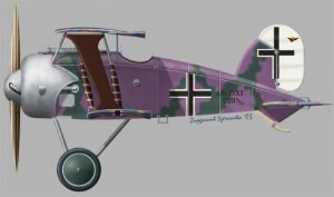 [A90] Albatros DXI First prototype