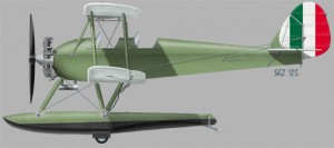 [A146] Caproni Ca 100 floats version Farina engine