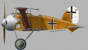 [A91] Albatros DXI Second prototype